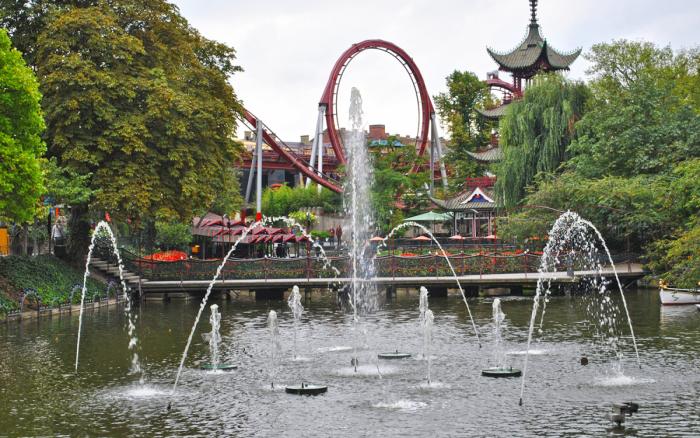 Парк и сады Тиволи