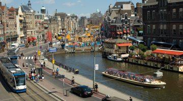 Транспорт в Амстердаме: виды и расценки