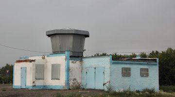 Заброшенные здания, бывшие постами ГАИ