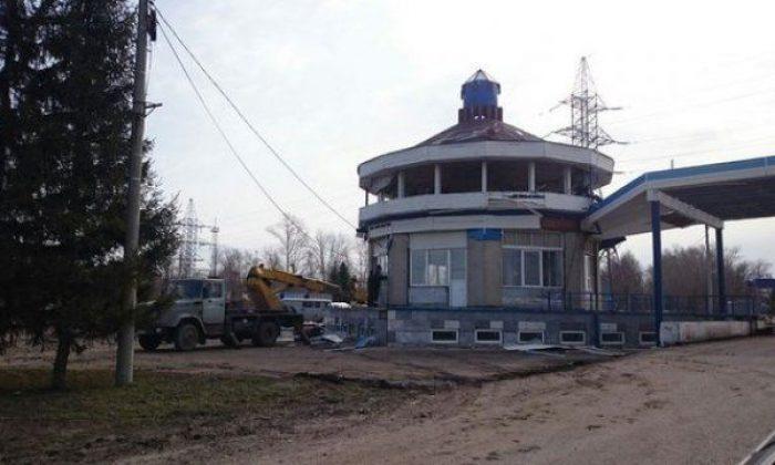 Заброшенный пост ГАИ в Казани