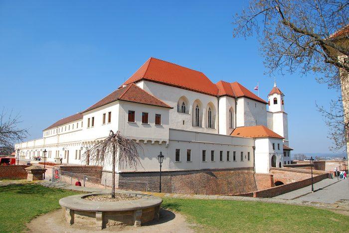 Крепость Шпильберк в Брно