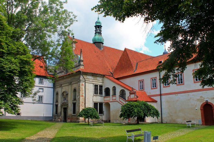Монастырь миноритов в Чески-Крумлове