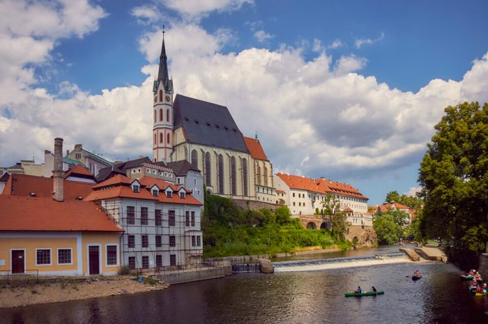 Костёл святого Вита в Чески-Крумлове