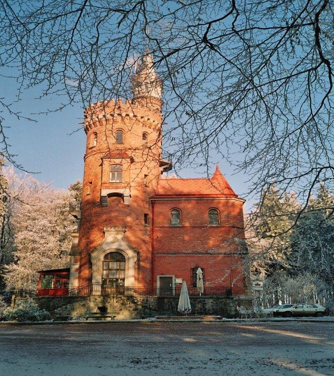 Башня имени Гёте в Карловых Варах