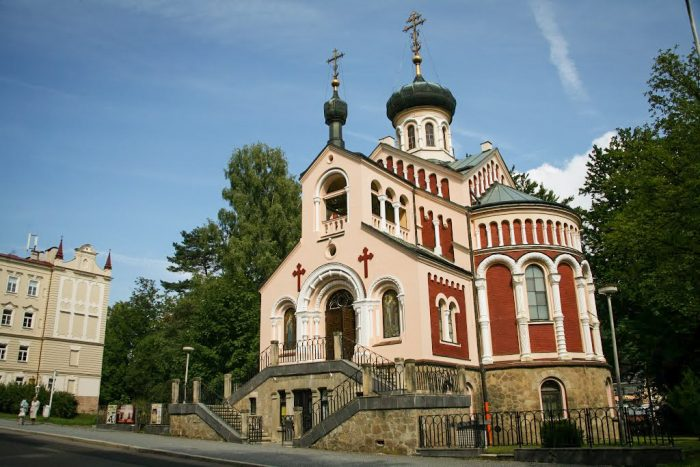 Князь-Владимирская церковь в Марианске-Лазне