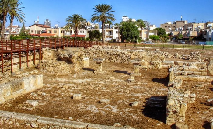 Руины Китиона в Ларнаке
