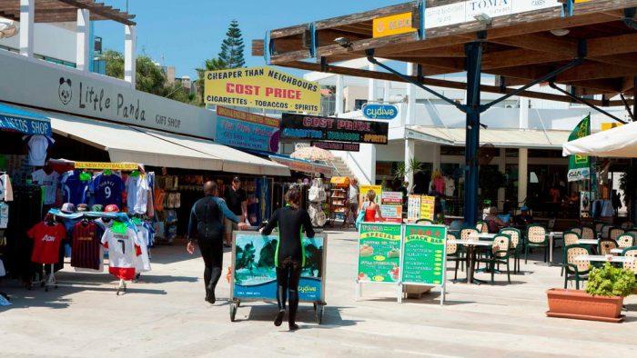 Рынок с турецкой стороны Кипра