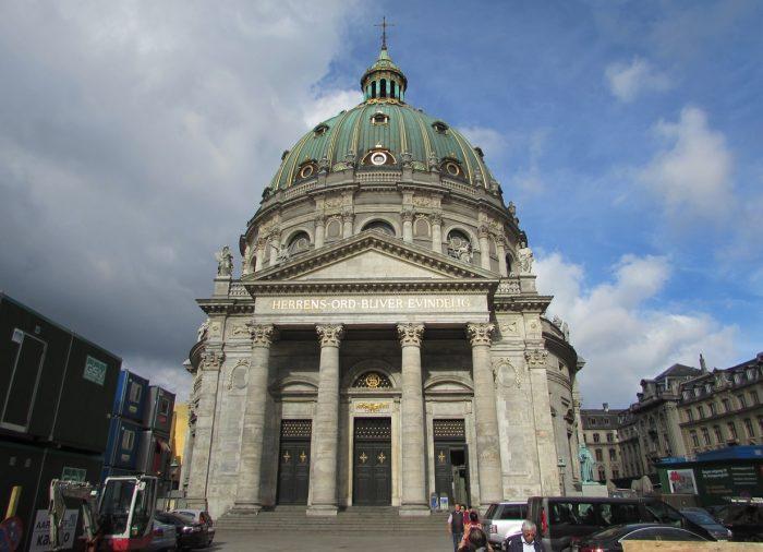 Мраморная церковь (Marmorkirken) в Копенгагене