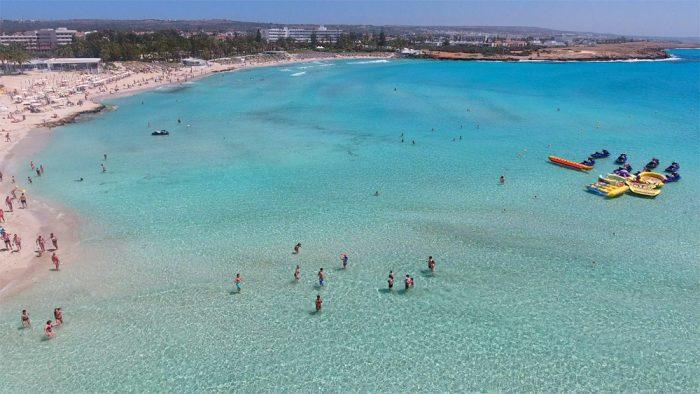 Один из пляжей Кипра