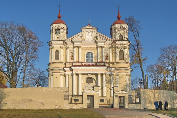 Костёл Святых Петра и Павла в Вильнюсе