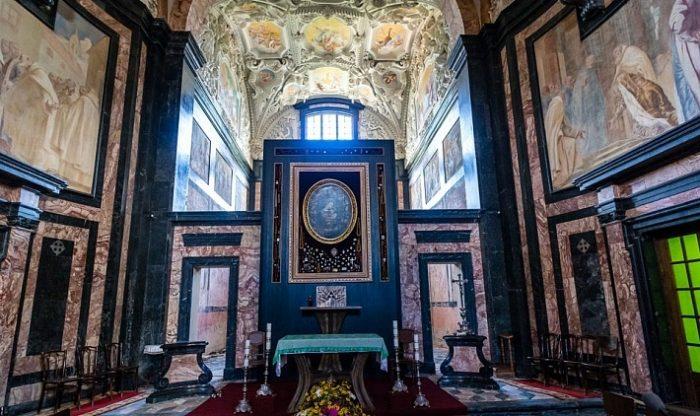 Монастырь Пажайслис в Каунасе
