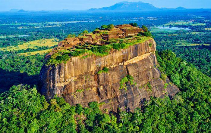 Сигирия на Шри-Ланке