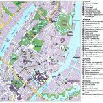 Туристическая карта Копенгагена