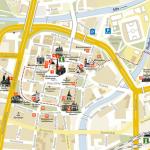 Карта Пльзеня с достопримечательностями