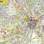 Карта Брно с указанием всех улиц и достопримечательностей