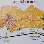 Карта Кутна-Горы и окрестностей города