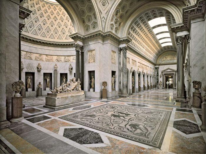 Музей Кьярамонти зал Браччо Нуово Ватикан