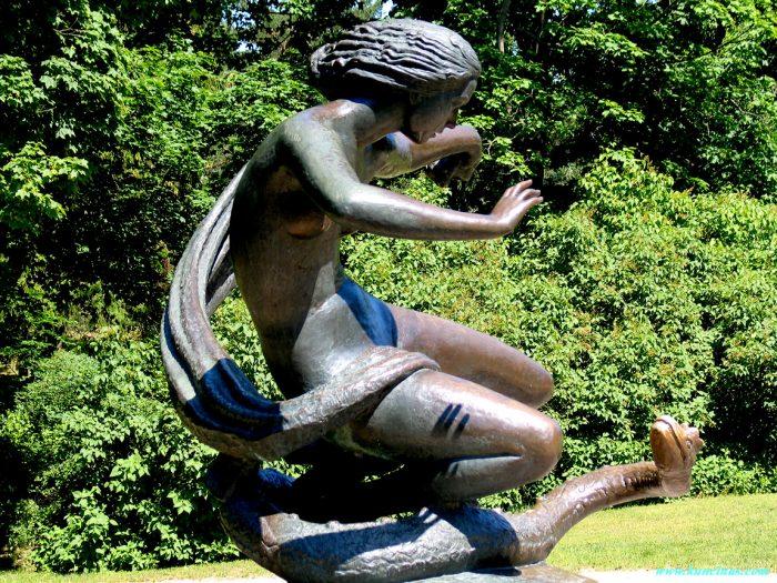 Парк скульптур в Паланге