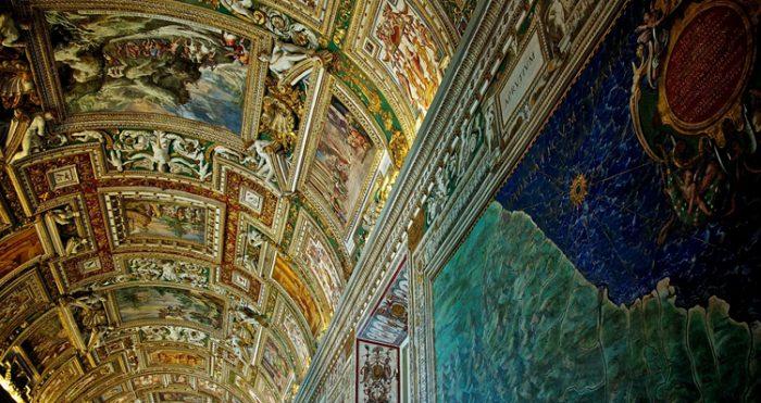 Галерея географических карт Ватикан