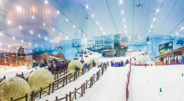 Горно-лыжный комплекс в Дубае