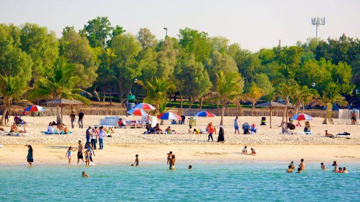 Пляжный парк Аль-Мамзер