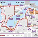 Туристическая карта города Дубая