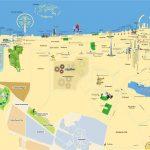 Туристическая карта города Шарджи