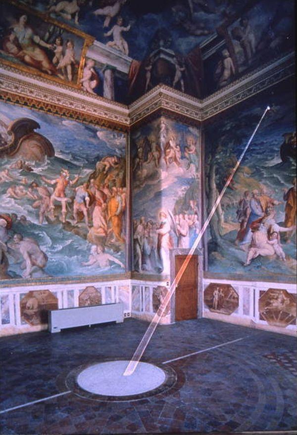 Ватикан Зал Меридиана Башня Ветров