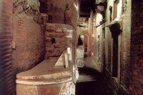 Подземный некрополь Ватикан