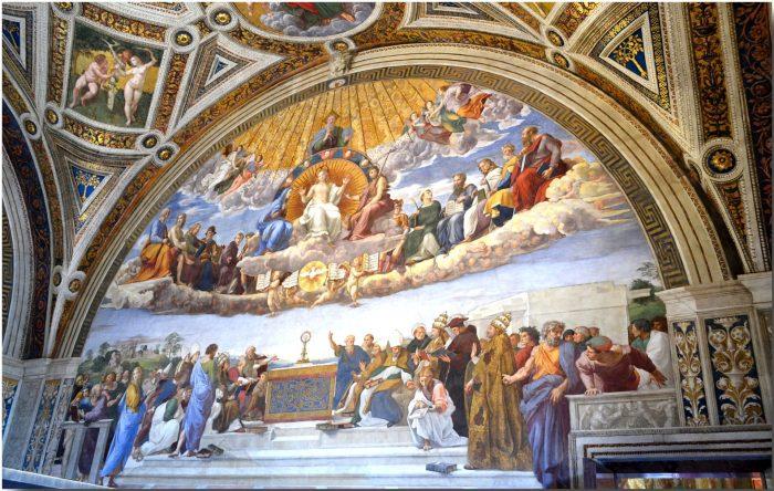 Станцы Рафаэля Ватикан