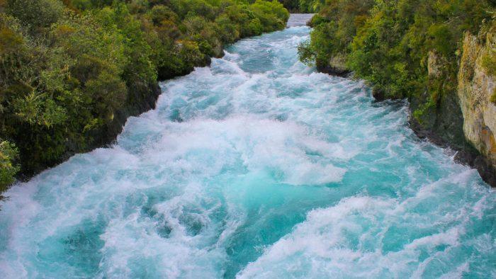 Водопад Хука