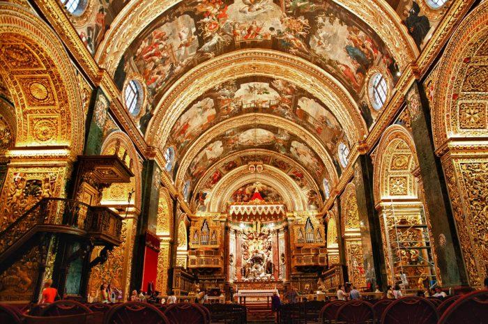 Кафедральный собор св. Иоанна внутри