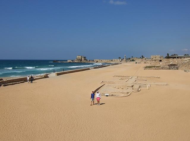 Пляж Кейсарии
