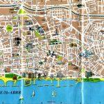 Туристическая карта Тель-Авива