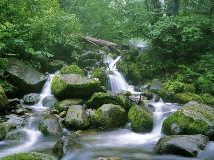 Водопад в Сираками-Санти