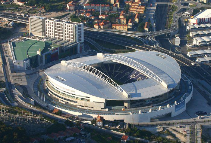 Стадион в Порту