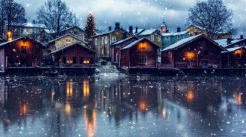 Достопримечательности снежной Финляндии