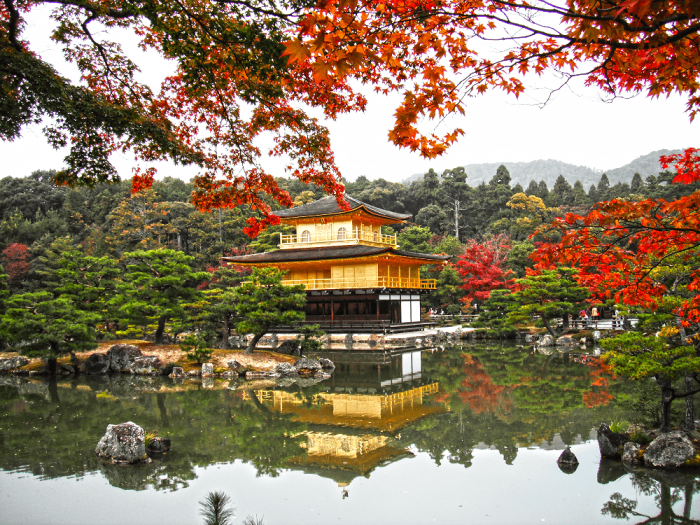 Пейзажи в Киото