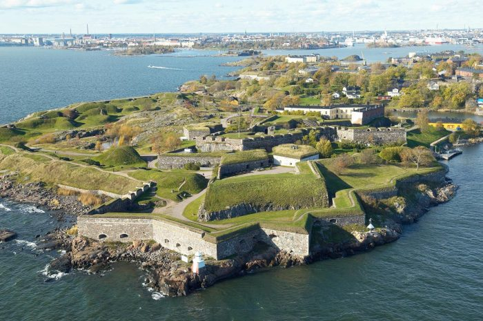 Крепость Свеаборг в Хельсинки