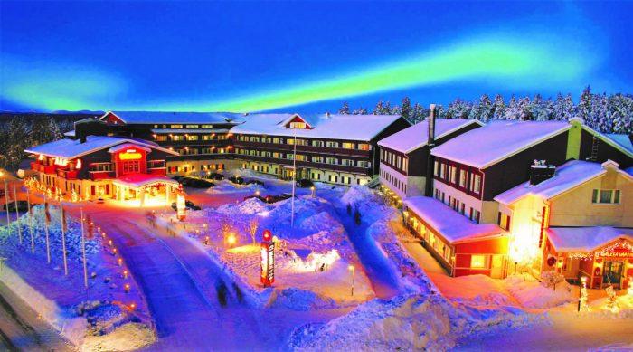 Горнолыжный курорт «Леви» в Финляндии