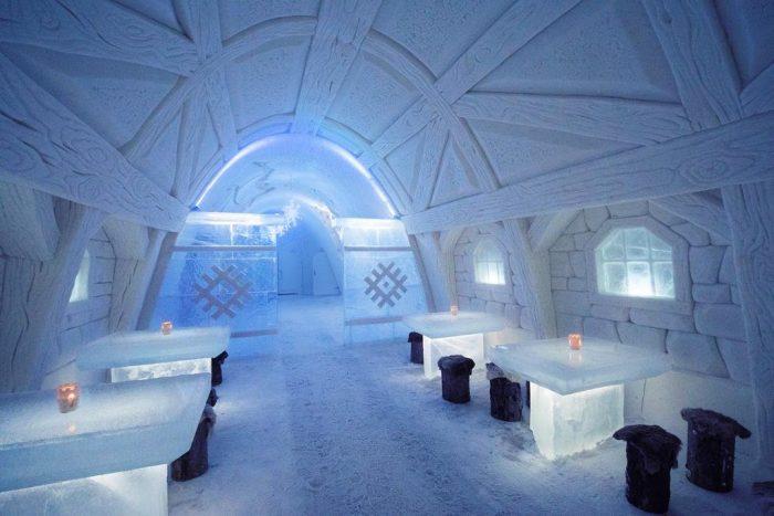 Отель из льда в Кеми