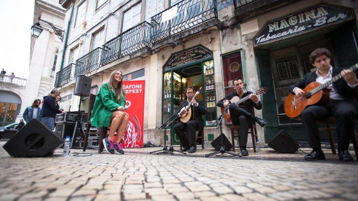 Музыканты в Лиссабоне