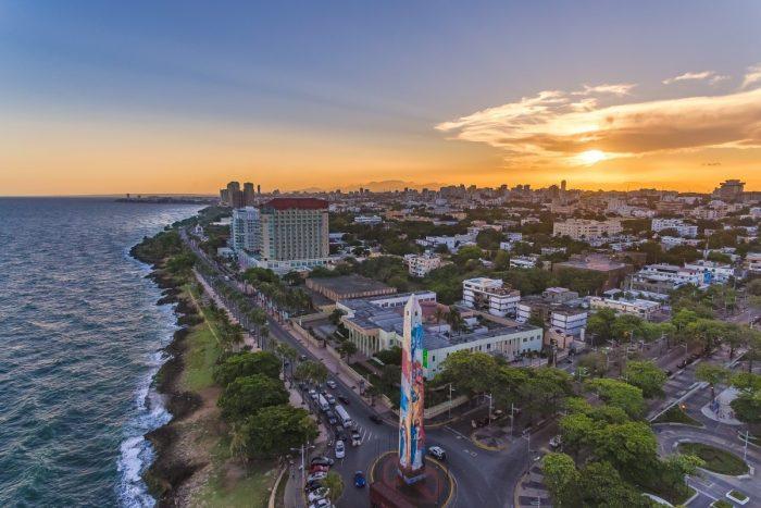 Вид сверху на Санто-Доминго