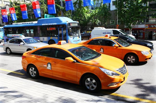 Такси в Южной Корее