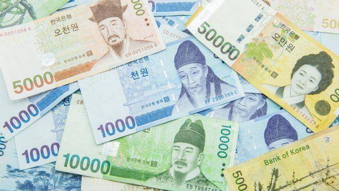Южнокорейские воны