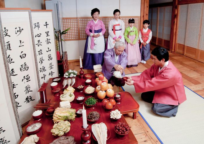 Праздник Чхусок в Корее