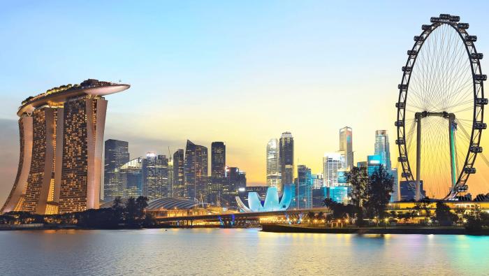Столица государства Сингапур