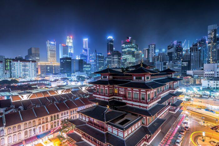Сингапур — город контрастов