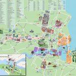 Карта бесплатных достопримечательностей Сингапура