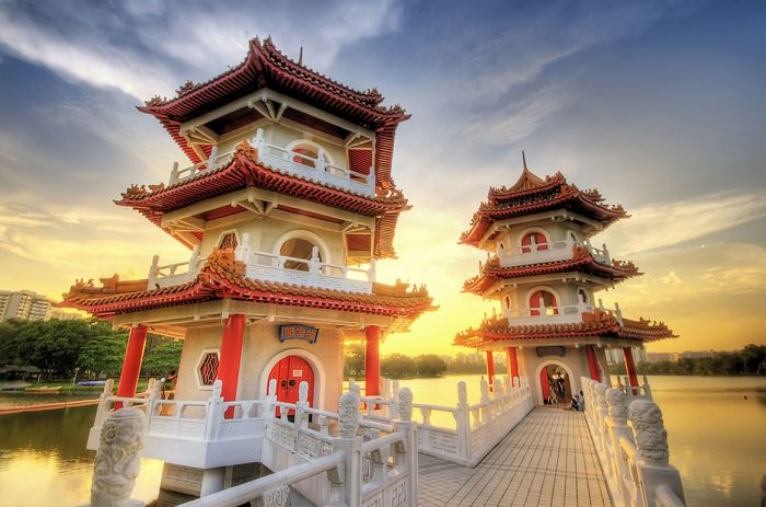 Китайский и Японский сад